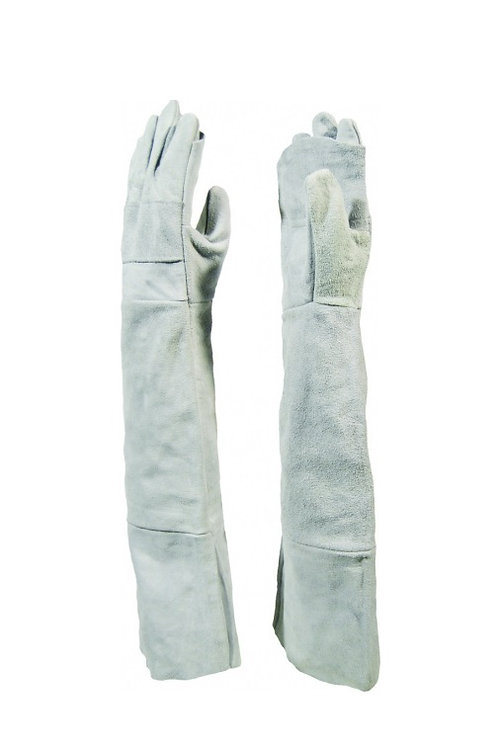 Chrome Leather Frock Palm Shoulder Length 40cm