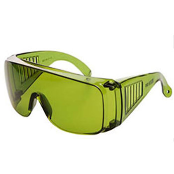 WRAP AROUND Safety Glasses Green