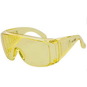 WRAP AROUND Safety Glasses Amber