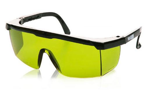 EURO Safety Glasses Green