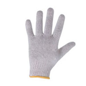 COTTEN KNITTED UNBLEACHED GLOVES