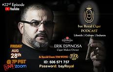 Episode #22 bay Royal Cigar Podcast.png