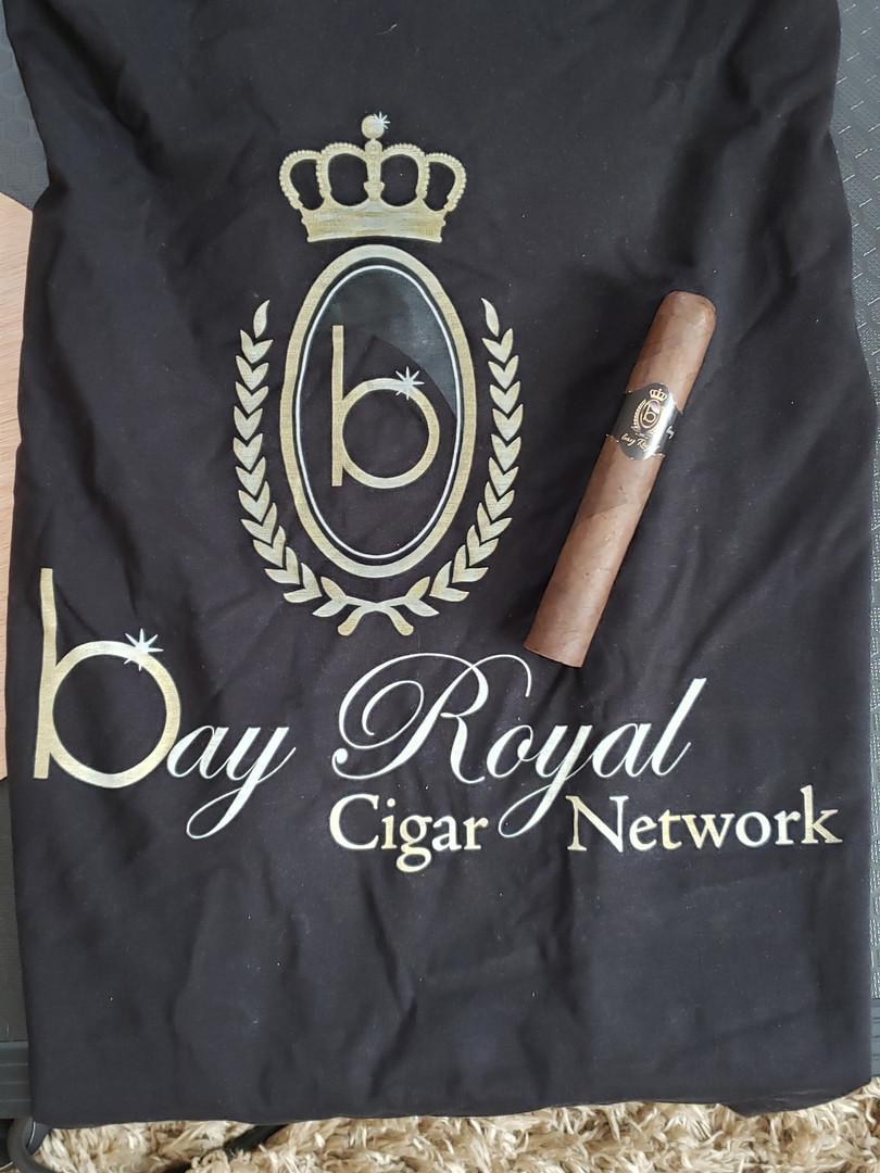 bay Royal Network Black T