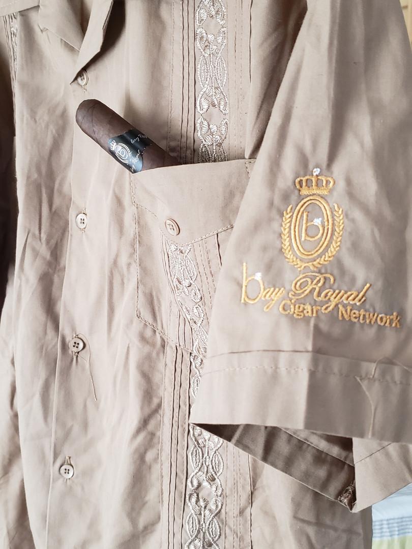 Bay Royal Cigar Network Guayabera