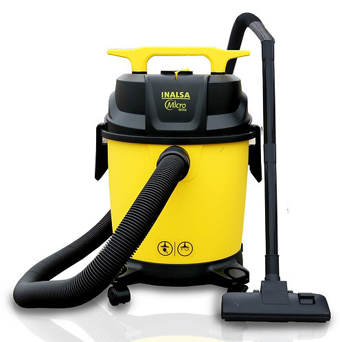 Inalsa Vacuum Cleaner Wet and Dry Micro WD10-1000W with 3in1 Multifunction Wet
