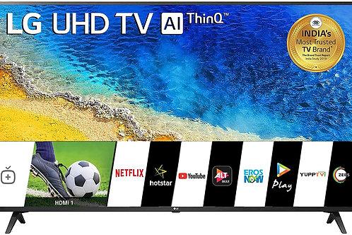 LG 139 cm (55 inches) 4K UHD Smart LED TV 55UM7290PTD (Ceramic BK + Dark Steel