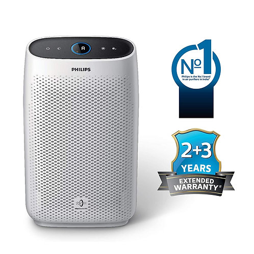 Philips AC1215/20 Air purifier, removes 99.97% airborne pollutants with 4-stage