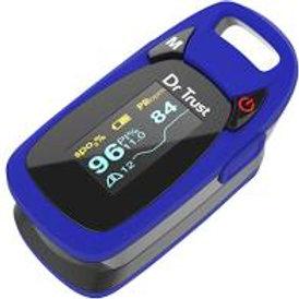 Dr Trust (USA) Finger Tip Pulse Oximeter - 209 (Blue)