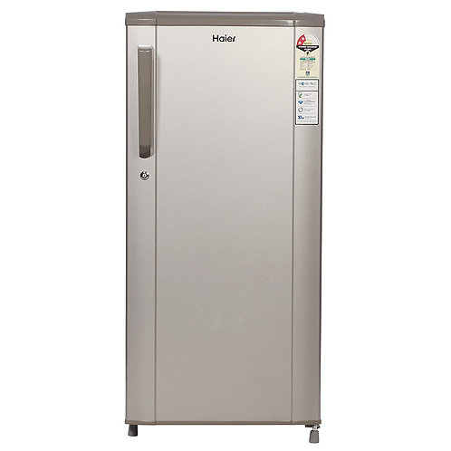 Haier 190 L 2 Star Direct-Cool Single Door Refrigerator (HED-19TMS, Moon Silver)