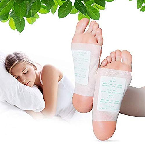 Amextrian Kinoki Foot Pads - Natural Cleansing Foot Care