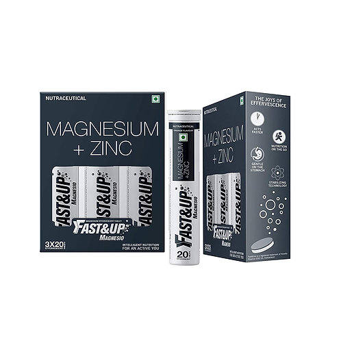 Fast&Up Magnesio - Magnesium and Zinc for Muscle Health and Stress