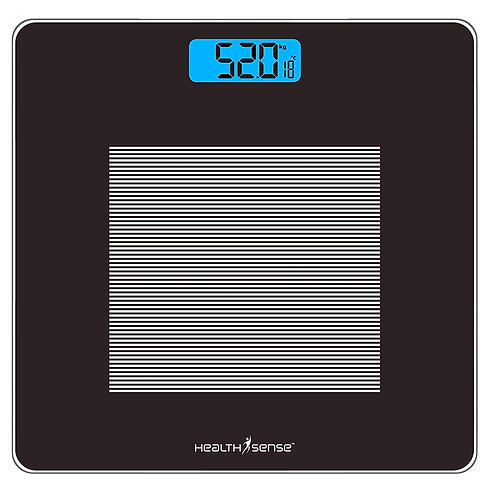 HealthSense Dura-Glass PS 115 Digital Personal Body Weighing Scale, Best Electro