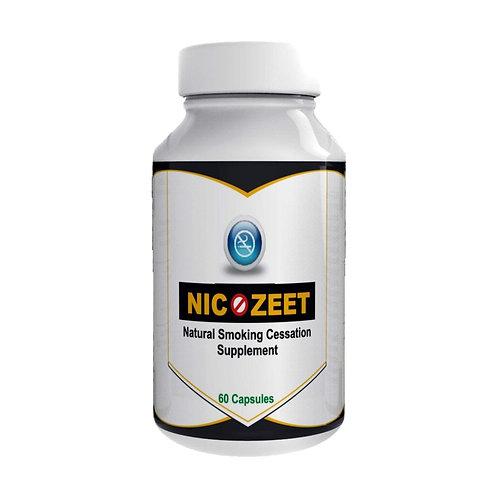 Nicozeet Natural Smoking Cessation Supplement 60 Capsules