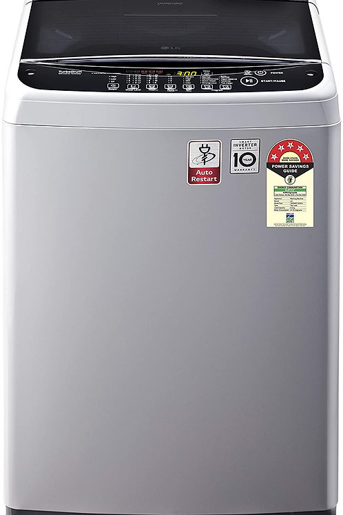 LG 6.5 Kg 5 Star Smart Inverter Fully-Automatic Top Loading Washing Machine(T65)