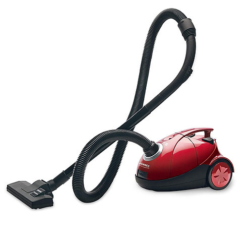 Eureka Forbes Quick Clean DX 1200-Watt Vacuum Cleaner for Home with Free Reusabl