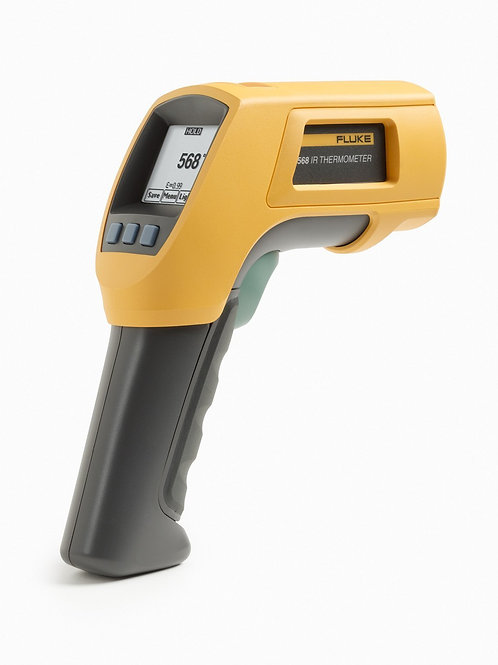 Fluke 568 Duel Infrared Thermometer, -40 to +1472 Degree F Range, Contact/Non Co