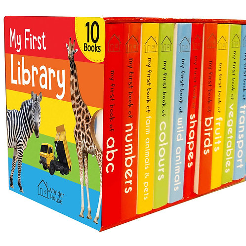 My First Library: Boxset of 10 Board Books for Kids Board book – 25 April 2018
