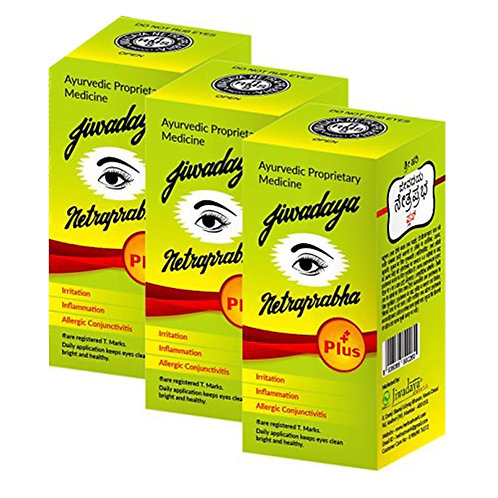 Jiwadaya Netraprabha Plus Ayurvedic Herbal Honey Base Eye Drops - 10Ml