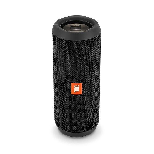 JBL Flip 3 Stealth Waterproof Portable Bluetooth Speaker with Rich Deep Bass (Bl