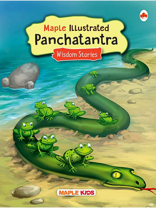 Panchatantra - Maple Illustrated Story Books for Kids - Wisdom Stories - Colourf