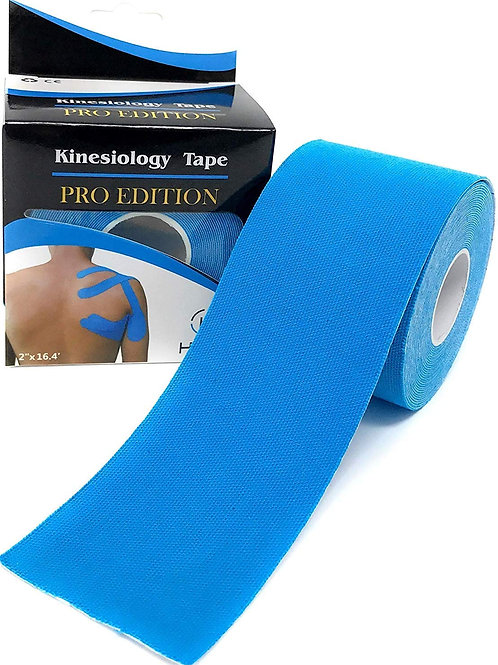 Eranqo® Waterproof Kinesiology Tape (5 m X 5 cm) Latex free Breathable athletic