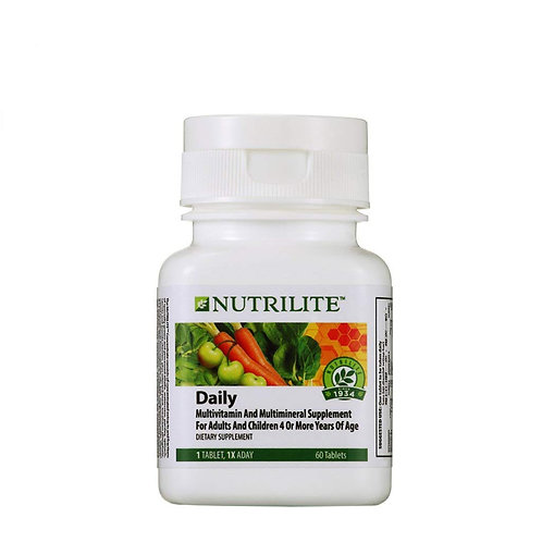 Nutrilite/Amway Daily Multivitamin and Multimineral Tablet (60 N)