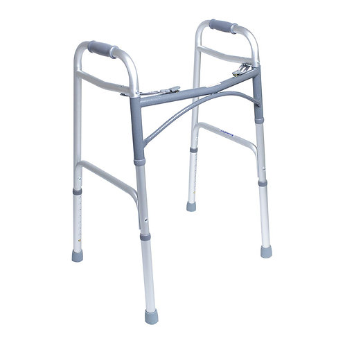 KosmoCare Premium Imported Light weight Aluminum Height Adjustable Walker