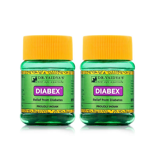 Dr. Vaidya's New Age Ayurveda | Diabex Pills | Ayurvedic Pills For Blood Sugar