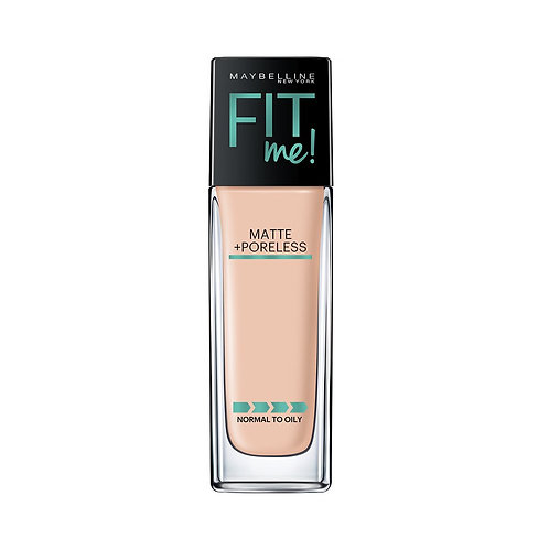 Maybelline New York Fit Me Matte+Poreless Liquid Foundation (With Pump), 115 Ivo