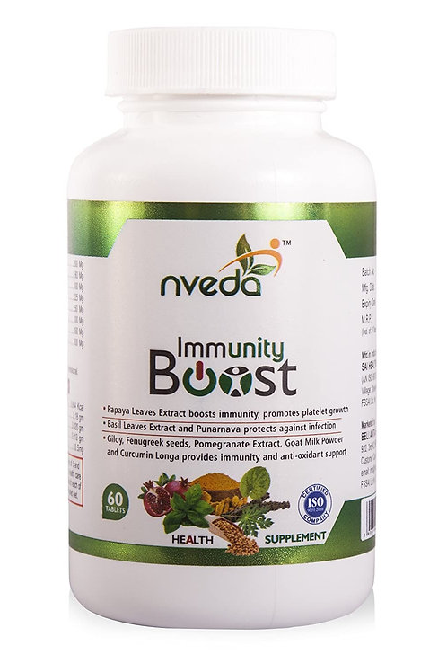 Nveda Immunity Boost with Papaya Leaves Extract