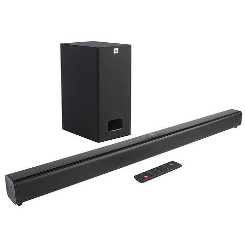JBL Cinema SB130 2.1 Channel Soundbar with Wired Subwoofer (110 Watts)