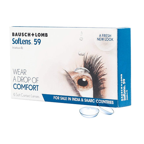 Bausch & Lomb Softlens 59 Monthly Disposable Contact Lens