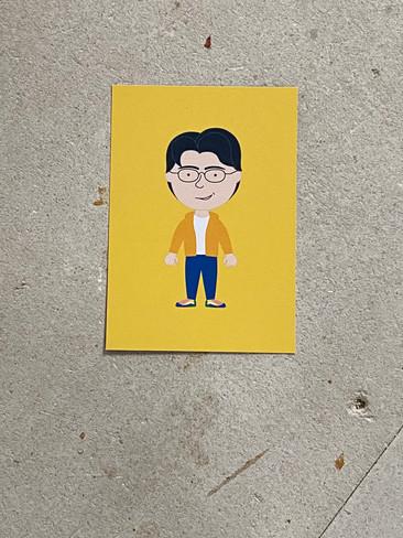 Postkarte Pierre