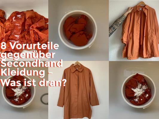 Die größten Vorurteile über Secondhand Kleidung - was ist an ihnen dran?