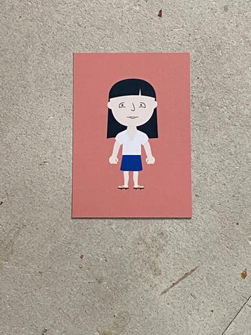 Postkarte Marie