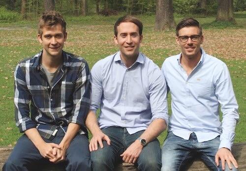 Das Gründerteam von Bonavendi v.l.: Stefan Zinser, Florian Forster, Marco Görgmaier (Foto: Rebuyprices)