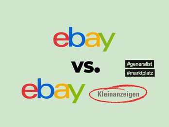 ebay vs. ebay-Kleinanzeigen - wo sind die Unterschiede