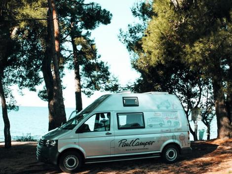 Camper Sharing-Plattformen