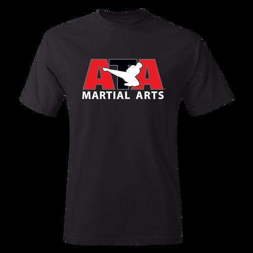 Black ATA Martial Arts T-Shirt