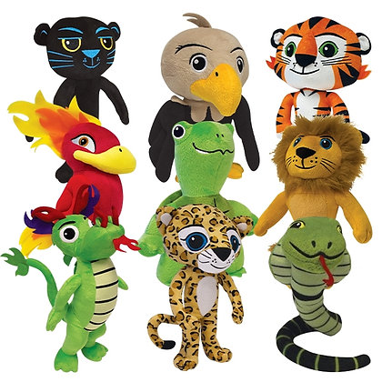 ATA Tigers Characters Stuffed Animals