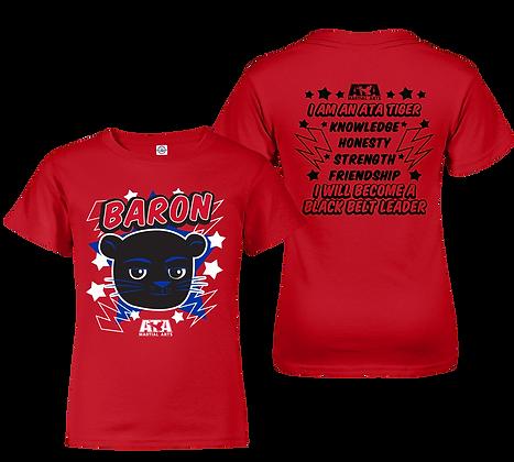ATA Tigers Red Baron Panther T-Shirt