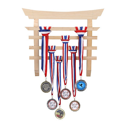 Customized Torii Gate Medal Display