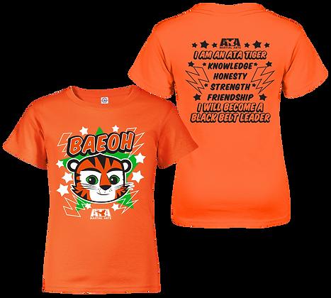 ATA Tigers Orange Baeoh Tiger T-Shirt