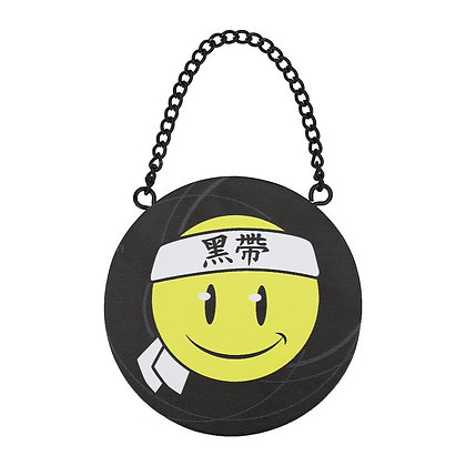 Double Sided Ninja Smiley Ornaments