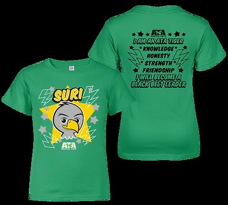ATA Tigers Green Suri Eagle T-Shirt