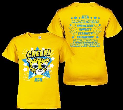 ATA Tigers Yellow Cheeri Cheetah T-Shirt