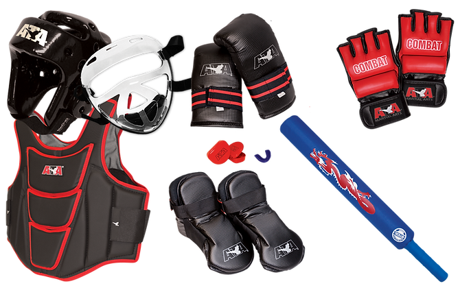 Combo Combat/Sparring Gear Set