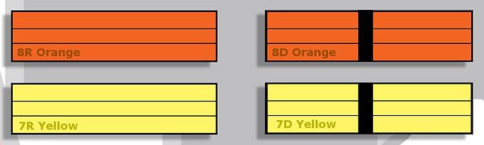 Orange & Yellow Belt Karate Kids