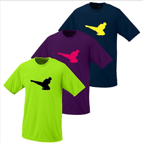 Neon Kicker Moisture Wicking T-Shirt