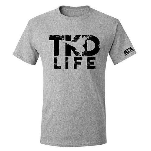 Gray TKD Life T-Shirt